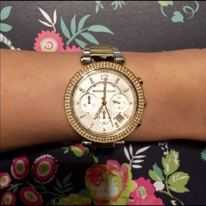"Michael Kors ""Parker"" Watch"
